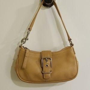 Coach shoulder mini purse